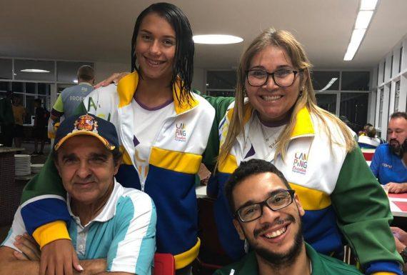 Atletas Camping Escolar Paralímpico